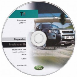 CD de diagnostic Land Rover DRGFL36 (Freelander après 2001)