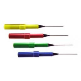 KIT de 4 aiguilles : Rouge - Bleu - Jaune - Vert Silvertronic