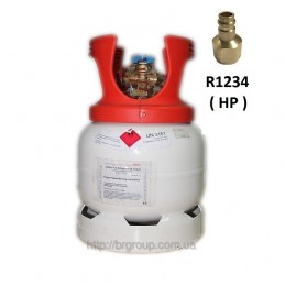 Adaptateur cylindre universel haute pression pour HFO r1234YF