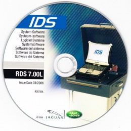 CD de diagnostic DJLFD021 (Range Rover L322)