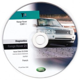 Diagnostic CD DJLFD021 (For Range Rover L322)