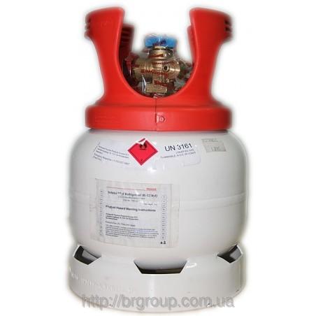 R1234YF refrigerant Honeywell Gas Bottle 5KG