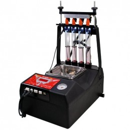 Multijet Pro 4 injectors with ultrasonic cleaning tank