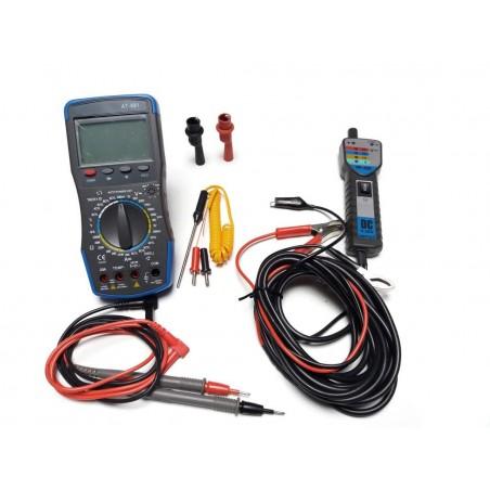 Automotive Multi-meter AT-891 + PP-200 power probe multi tester
