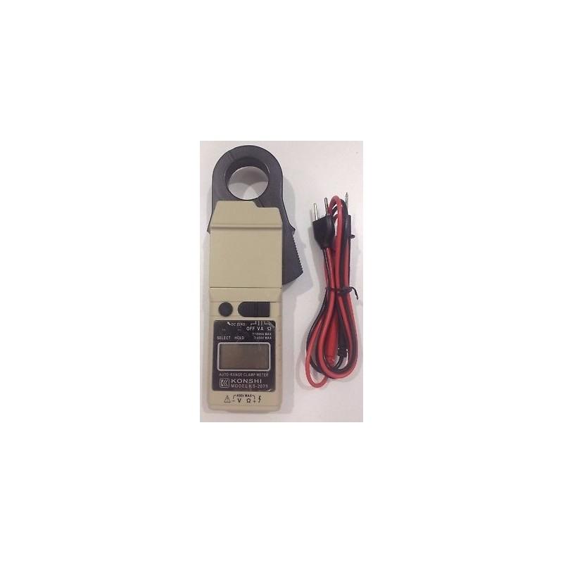 Multifunctional clamp meter