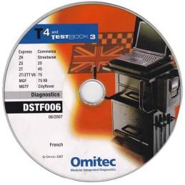 CD de diagnostic DJLFD021 (Range Rover L322)