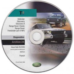 CD de diagnostic Land Rover DRGF024 (archive)