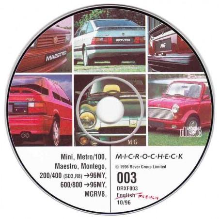 CD DRXF003 (Microcheck emulation)