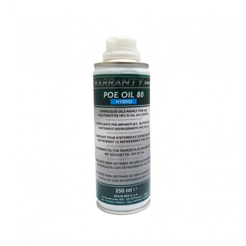 POE 80 oil for R134a Hybrid compressors