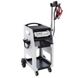 Trolley for GYSFLASH battery chargers