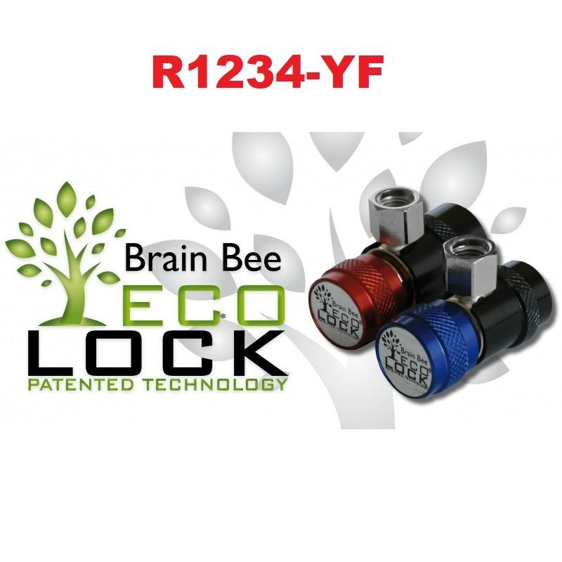 Raccord rapide Brain bee Eco Lock R2134-YF (HP+BP)