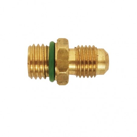 Cylinder adapter male 1/4 SAE for R1234yf