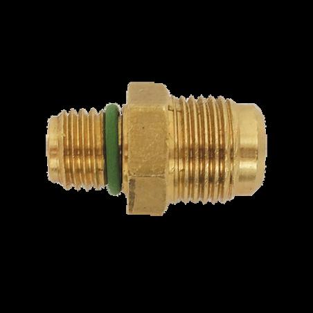 Adaptateur cylindre mâle 3/8 SAE pour R1234yf