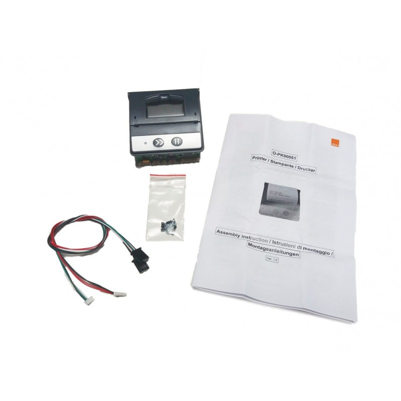Printer for Oxys Air conditioning charging machine