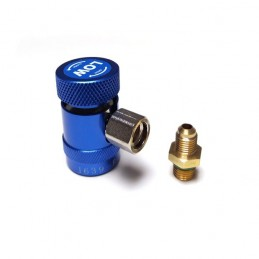 Raccord rapide basse pression (BP) R1234YF + adaptateur