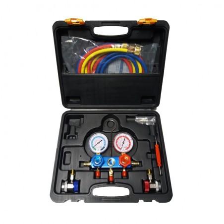 2-way pressure gauge kit R134a