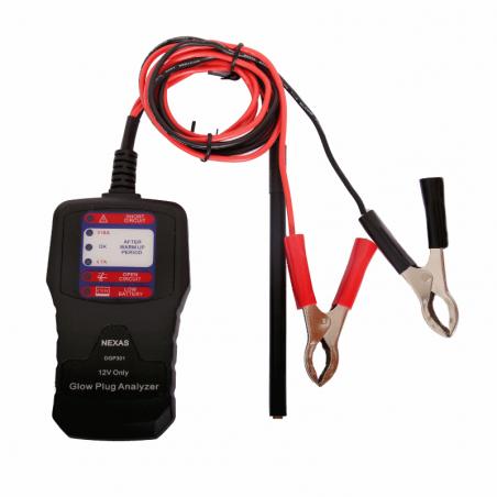 Glow plug tester