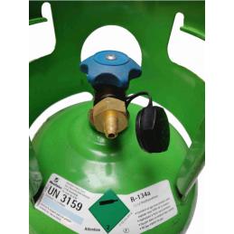 Raccord 1/4 SAE pour bouteille de gaz r134a