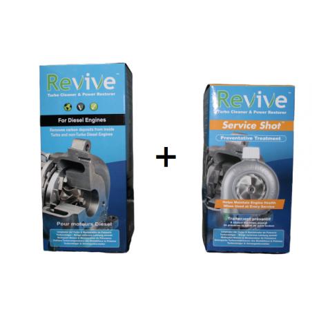 Revive Turbo Cleaner + Revive Turbo Maintenance