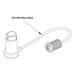 ECU040 - Câble adaptateur Mercedes 38 broches pour ST-6000 / F-Box