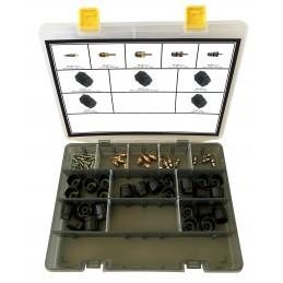 Kit d'obus et bouchons R1234yf pour professionnels de l'automobile