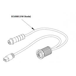 ECU080 - Câble adaptateur pour anciennes VW Skoda