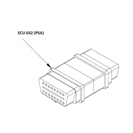 ECU032 - EOBD adaptor for...