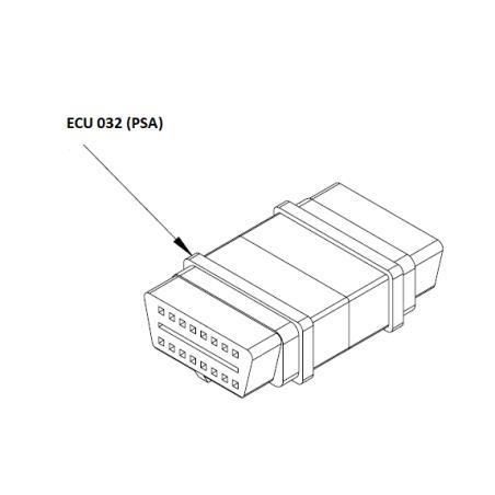 ECU032 - Adaptateur EOBD pour PSA (peugeot Citroen)
