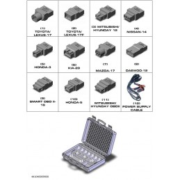 List of adapters in the AsiaBag case