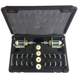 kit adaptateur pour rinçage de circuit de climatisation automobile