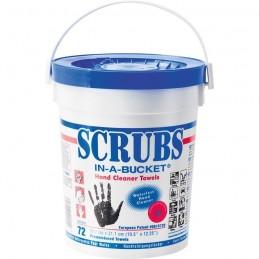 Lingettes nettoyantes/désinfectantes pour les mains