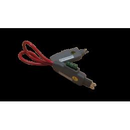Porte fusible avec boucle de mesure de courant