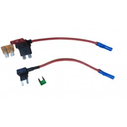 10A Fuse holder with bypass...