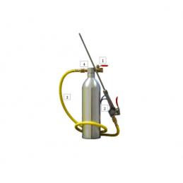 Pistolet pour nettoyage de filtre à particules