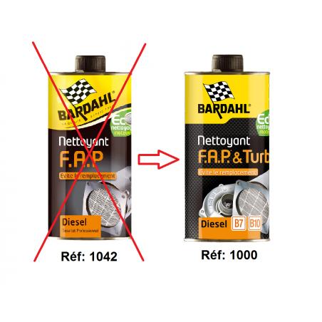 Nettoyant FAP pour moteurs Diesel (produit remplacé par Nettoyant FAP & Turbo)