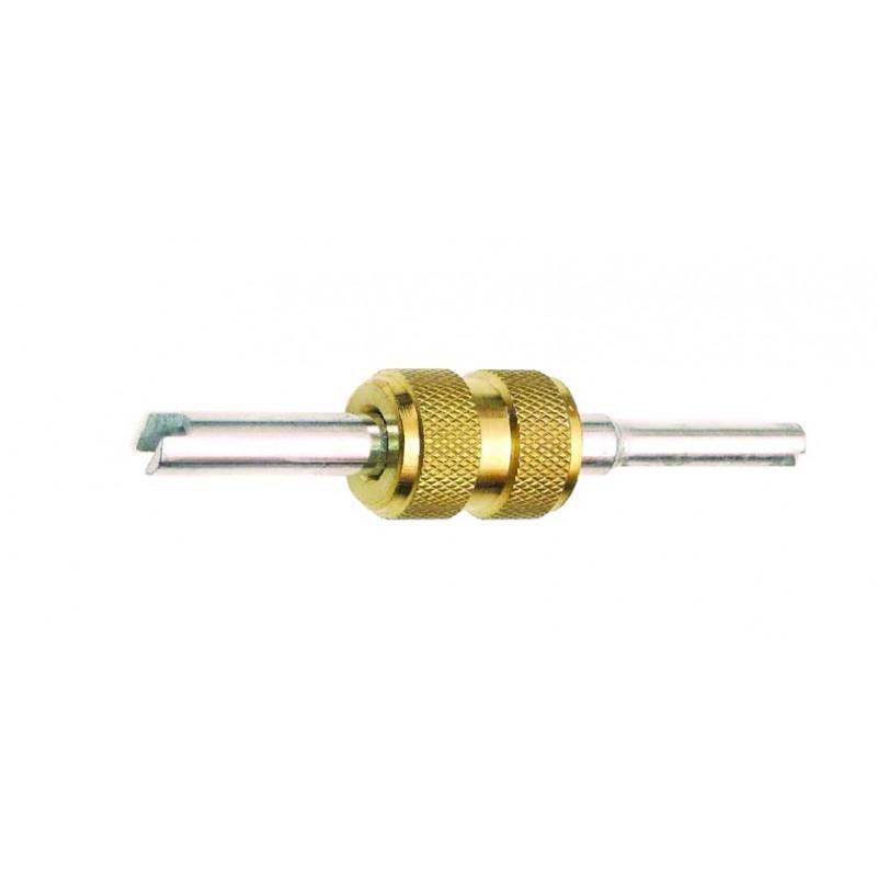 Metallic valve core