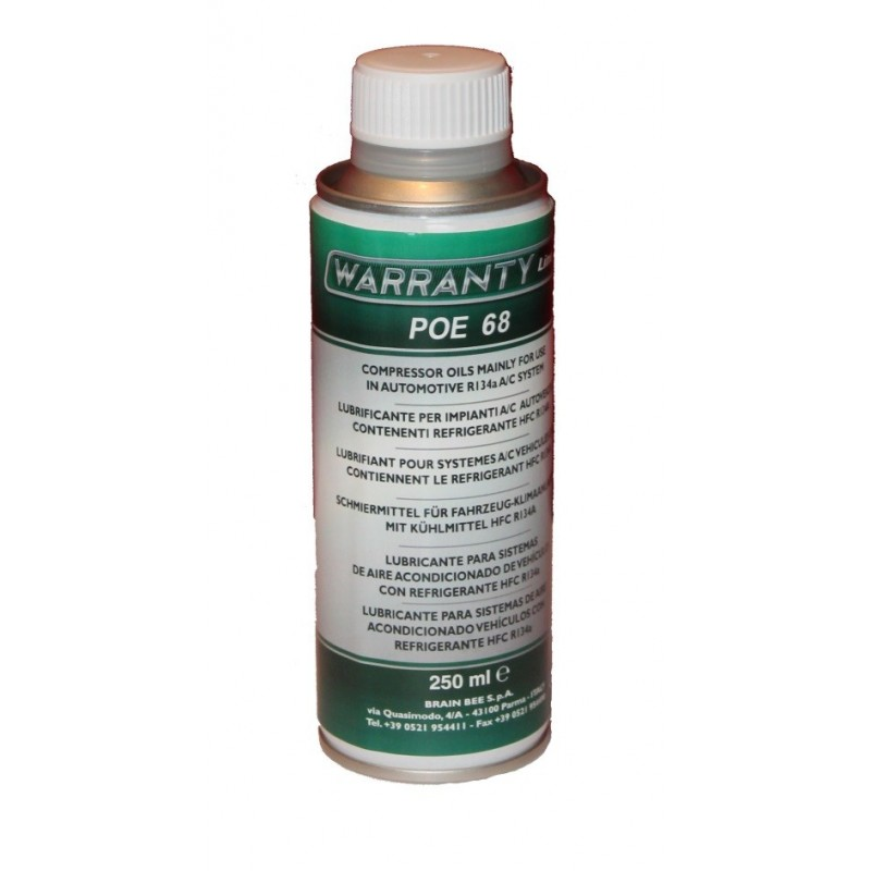 Lubricant for vehicle air conditioning 250 ml