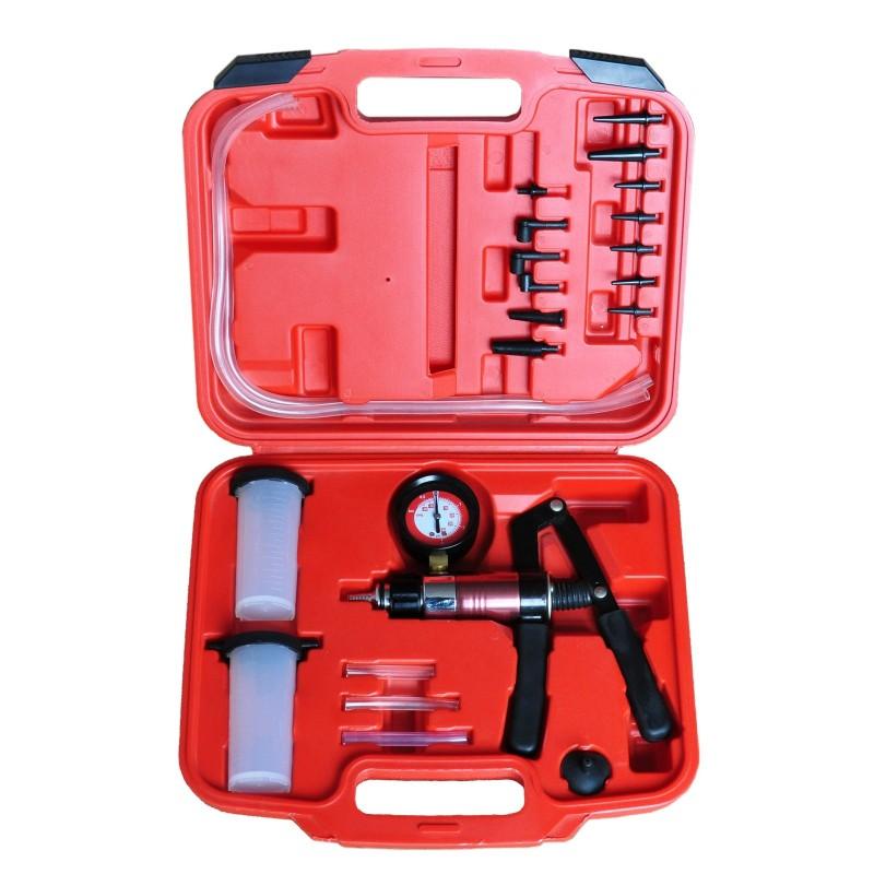 Pompe à pression/dépression et kit de purge des freins