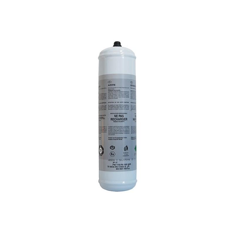 Bouteille de recharge d'azote 1L