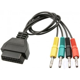 MERCEDES MSC-5 OBD to 4-pin Banana plug