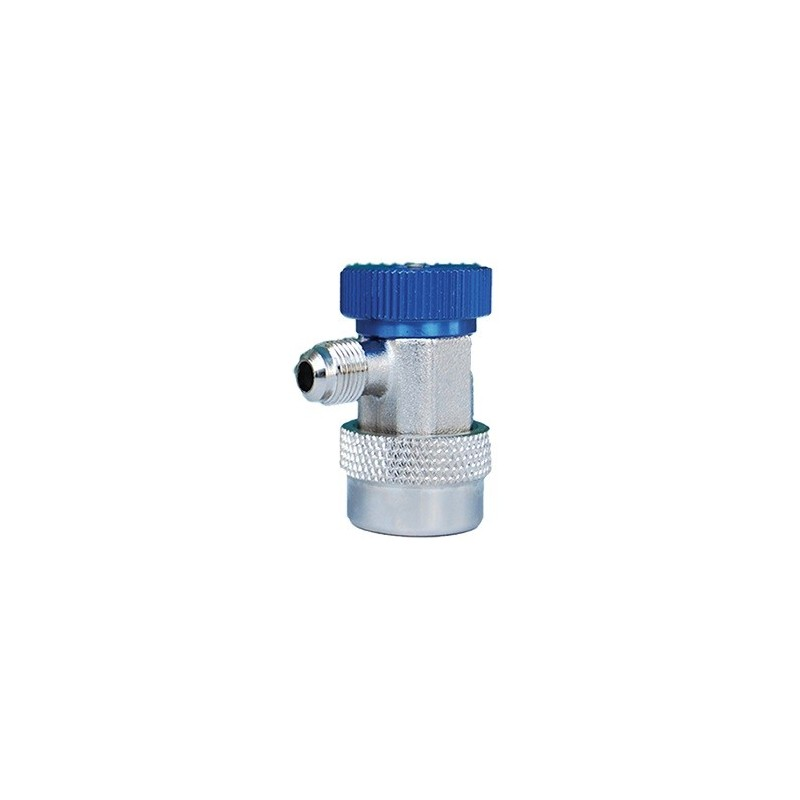 Low pressure quick connector for R134a refrigerant