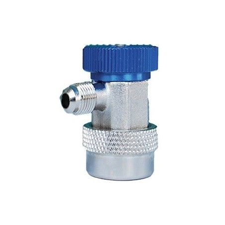 Quick coupler for R134 LP blue 1/4 SAE