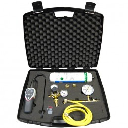 Leak detection kit by hydrogenated nitrogen