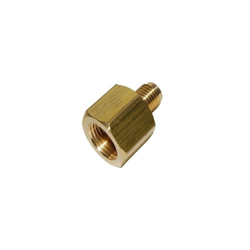 Cylindrical Adapter F3/8 SAE x M1/4 SAE