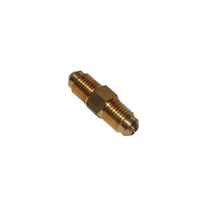 Cylindrical Adapter  M1/4 SAE x M1/4 SAE
