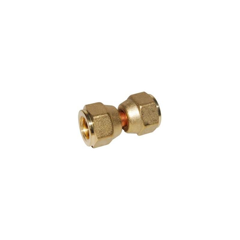 Cylindrical Adapter F1/4 SAE x F1/4 SAE