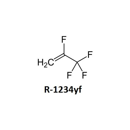 Climatisation - R1234 -YF (quantité de gaz par véhicule)