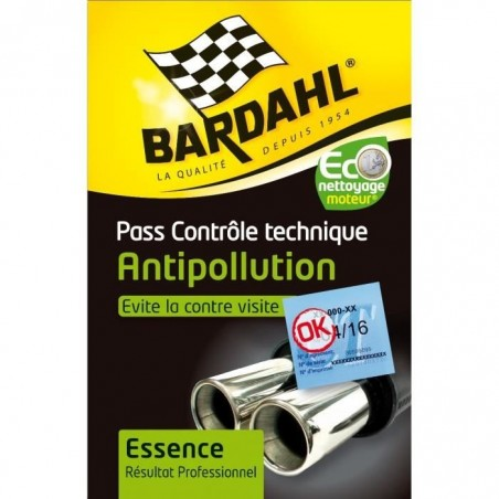 Antipollution Technical control pass - Gasoline