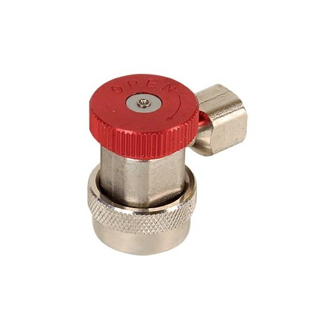 Quick coupling 1234YF High Pressure Red