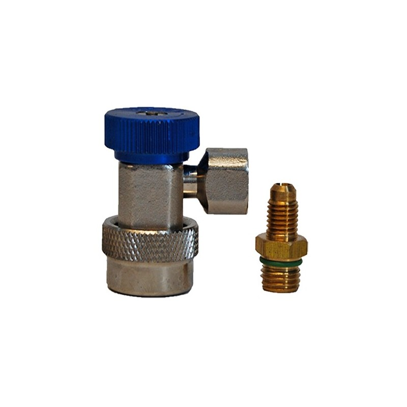 Quick Low Pressure Coupler for R134A Gas